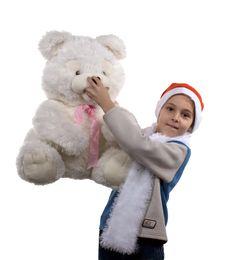Free Santa Boy Stock Photography - 3758472