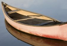 Free Canoe Moored On Venice Canals Stock Photos - 3758493