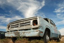 Abandoned American Truck Royalty Free Stock Images