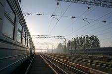 Free Railway Station Royalty Free Stock Images - 3758839