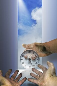 Free The Hands Of Time Royalty Free Stock Photo - 3758935
