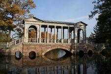 Free Bridge In Autumn Park Stock Images - 3759004