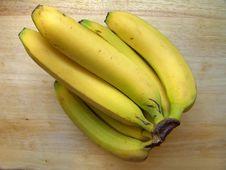 Free Isolated Ripe Bananas Royalty Free Stock Photos - 3759228