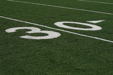 Free Thirty Yard Line Royalty Free Stock Images - 3759399