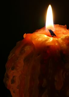 Free Candle Royalty Free Stock Photography - 3759447