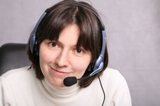 Call Service Agent Stock Images