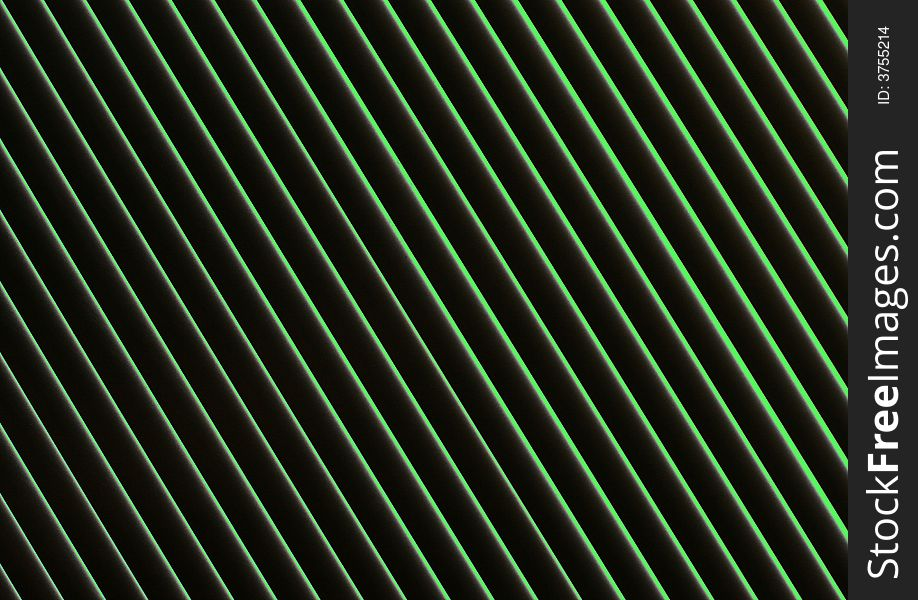 Black and Green line