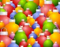Free Colorful Christmas Ornaments Background Royalty Free Stock Photography - 3766047