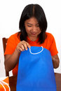 Free Girl With Bag Stock Image - 3767551