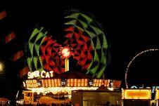 Free Amusement Ride At Night Royalty Free Stock Photo - 3760025