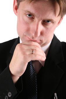 Free Pensive Businessmen Royalty Free Stock Photos - 3760248