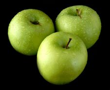 Free Fresh Green Apples Stock Photo - 3760720