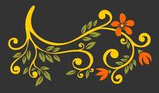 Free Dark Floral Pattern Stock Photos - 3760853