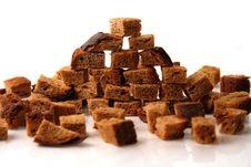 Free Rye Bread Croutons Royalty Free Stock Images - 3760889