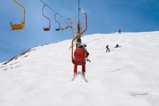 Chair Lift Stock Photography