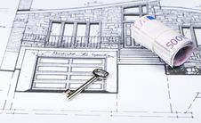 Free Blueprints Series Royalty Free Stock Photo - 3761365