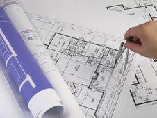 Free Blueprints Series Stock Photos - 3761833