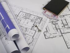 Free Blueprints Series Royalty Free Stock Images - 3761839
