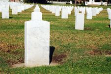 Free White Tombstones Stock Photography - 3761842