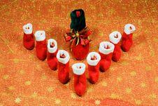 Free Christmas Decoration. Royalty Free Stock Photos - 3761878