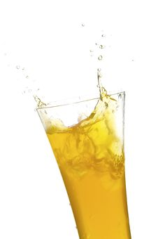 Free Glass With Juice Royalty Free Stock Photos - 3762048