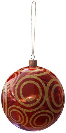 Free Christmas Ball Royalty Free Stock Photos - 3762168
