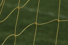 Free Soccer Net Royalty Free Stock Photo - 3762195