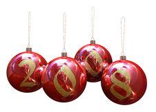 Free Christmas Balls Stock Image - 3762261