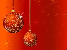 Free Christmas Background Royalty Free Stock Photo - 3762335