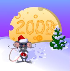 Free Cheese Mouse Stock Photo - 3762510