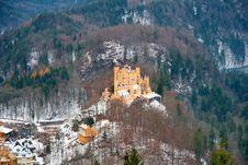 Free German Castle Royalty Free Stock Image - 3763136