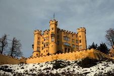 Free Bavarian Castle Royalty Free Stock Image - 3763416