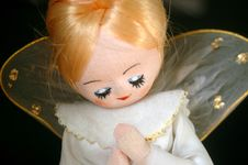 Free Vintage Angel Ornament Stock Photography - 3763842
