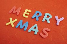 Free Merry Christmas Stock Image - 3764511