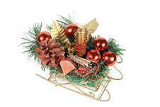 Christmas Sledge Stock Photography
