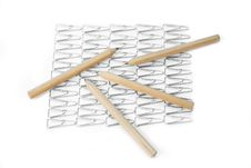 Free Pencils And Paper Clips Royalty Free Stock Image - 3765356