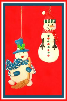 Free Snowmen Stock Photo - 3765430