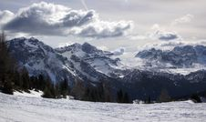 Free Italian Alps For Skiing 11 Royalty Free Stock Photos - 3765668