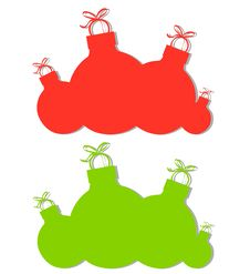 Free Christmas Ornament Silhouettes Stock Photo - 3765880