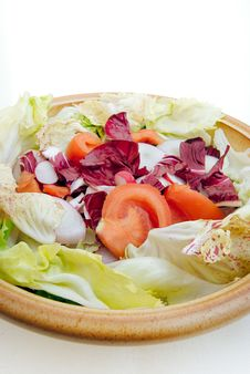 Free Italian Salad In Bowl Stock Photos - 3766803