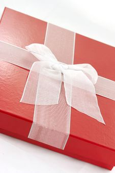 Free Red Present Box Stock Images - 3767034