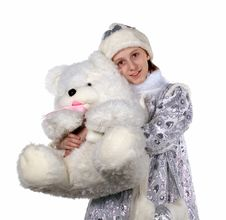 Free Snow Maiden Royalty Free Stock Photography - 3767137