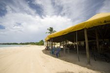 Free Beach Restaurant Caribbean Island Stock Photography - 3767682