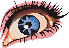 Free Eye Royalty Free Stock Photos - 3768688