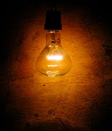 Free Lamp On The Wall Royalty Free Stock Photo - 3769855