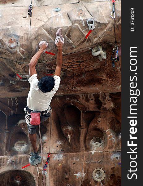 Mountain climber 3