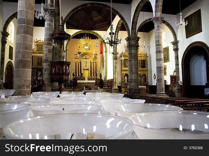 Spanish church