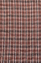 Free Brown Plaid Cloth Royalty Free Stock Image - 3772416