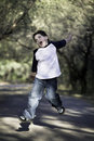 Free Boy In The Air Royalty Free Stock Photos - 3772468