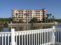 Free Vacation Resort Buildings Bridge & Lake 1 Stock Image - 3775181
